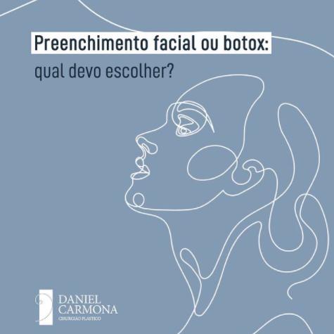Preenchimento facial ou botox? Qual devo escolher?